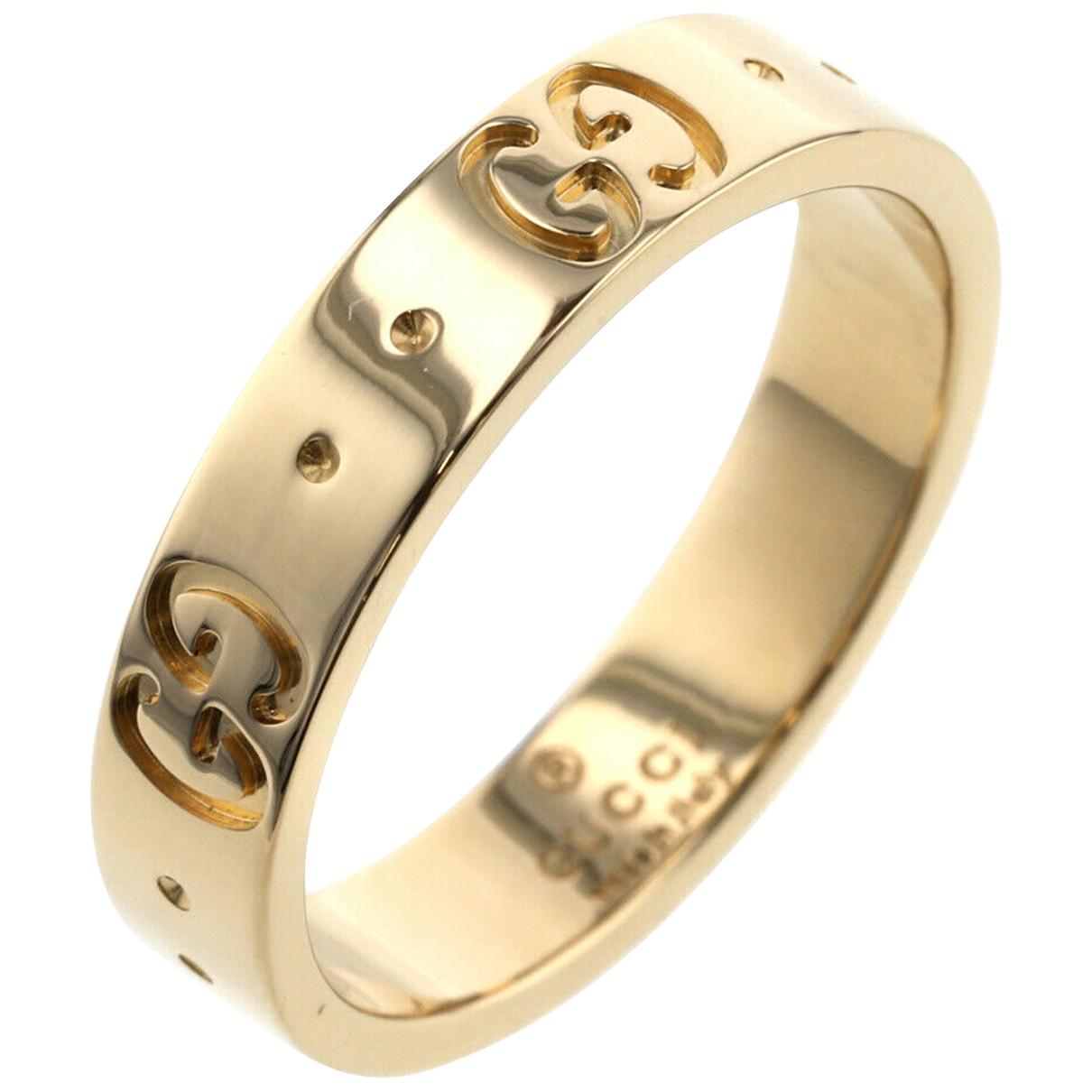 Gucci - Bague   pour femme en or jaune - dore