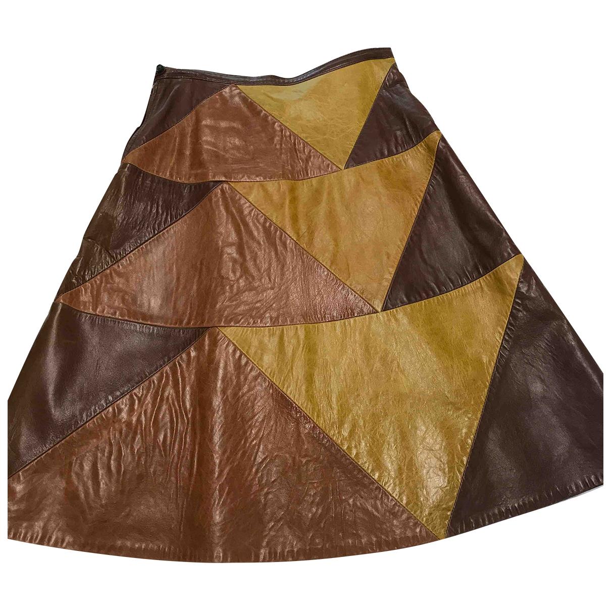 Bernhard Willhelm \N Leather skirt for Women 38 IT