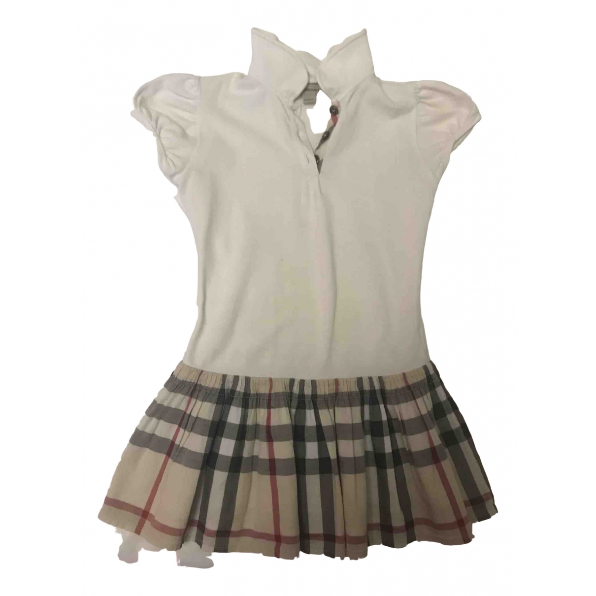 Burberry \N White Cotton dress for Kids 4 years - up to 102cm FR