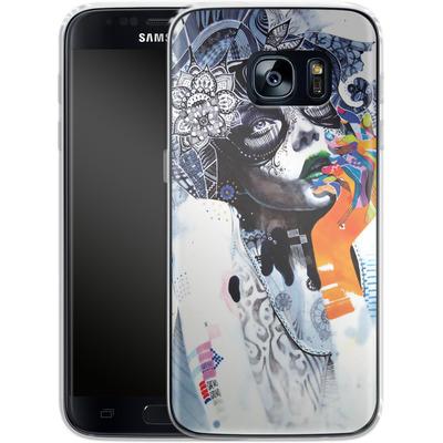 Samsung Galaxy S7 Silikon Handyhuelle - The Dream von Minjae Lee