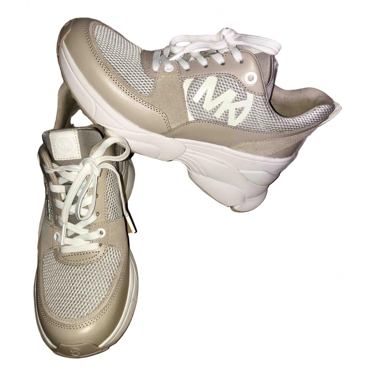 Michael Kors \N Sneakers in  Kamel Leder