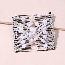 Haarspangen mit Perlen Design