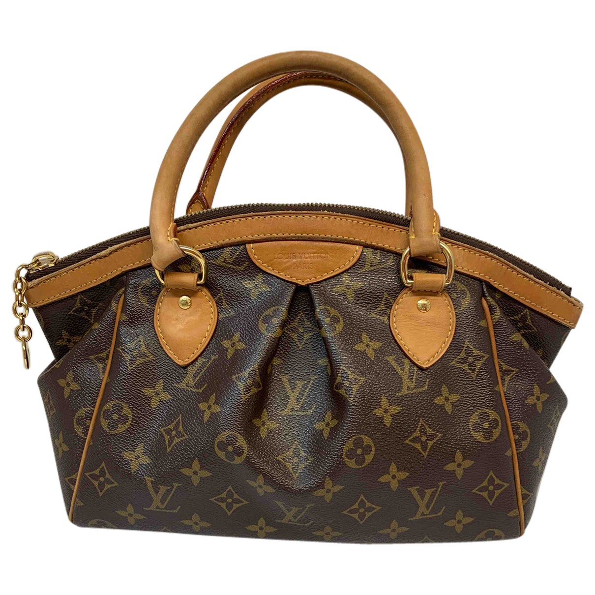 Louis Vuitton Tivoli Brown Cloth handbag for Women N