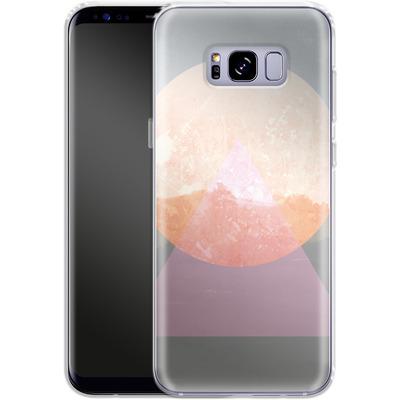 Samsung Galaxy S8 Plus Silikon Handyhuelle - Landscape Abstract 3 von Mareike Bohmer