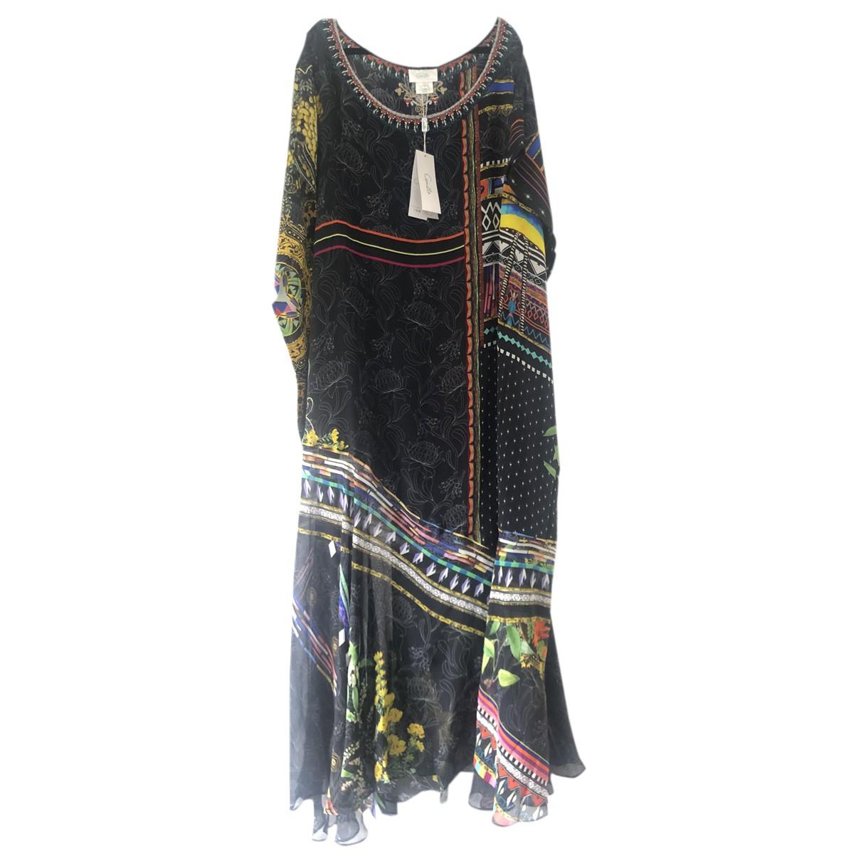 Maxi vestido de Seda Camilla