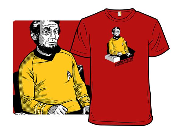 Lincolns Log T Shirt