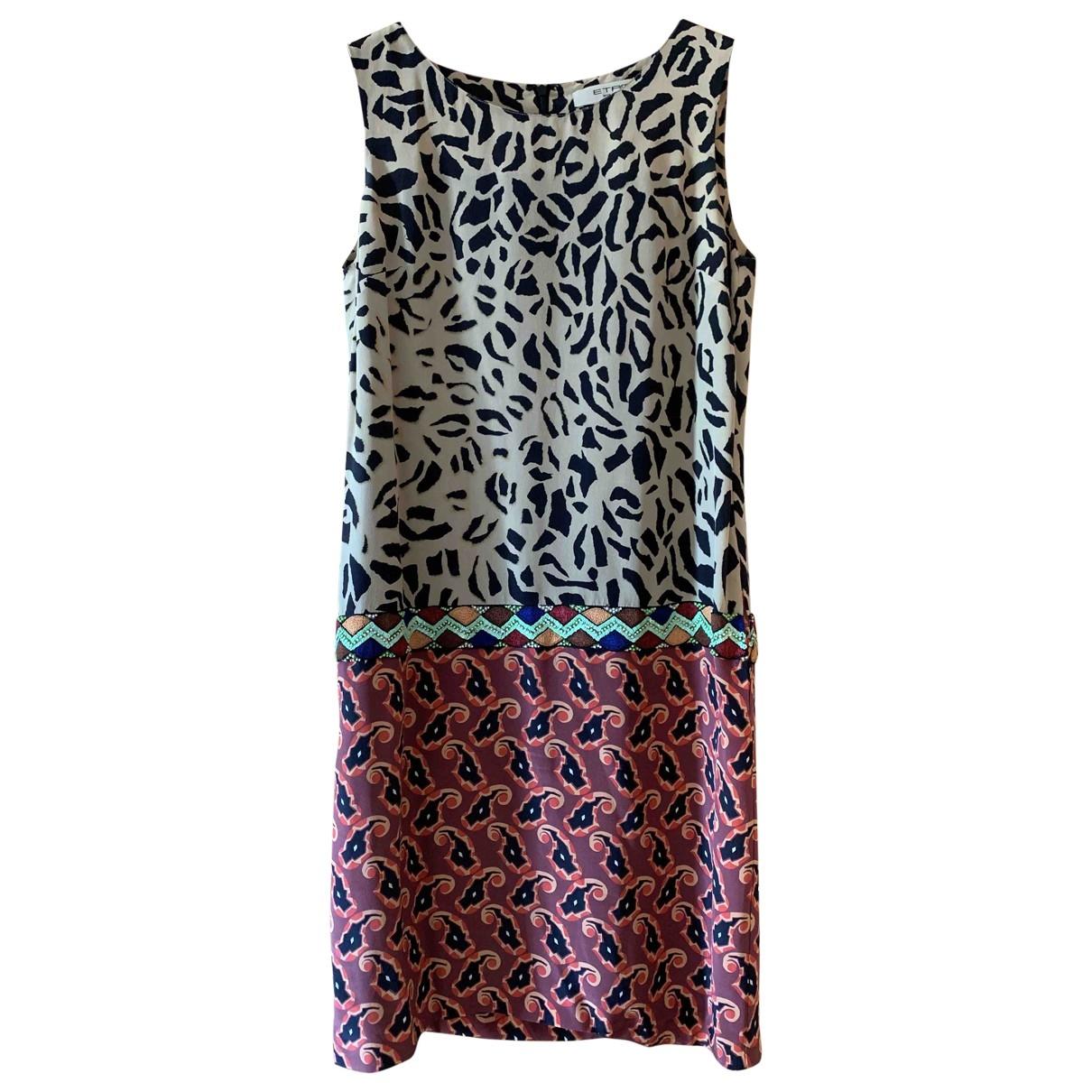 Etro \N Multicolour Silk dress for Women 38 IT
