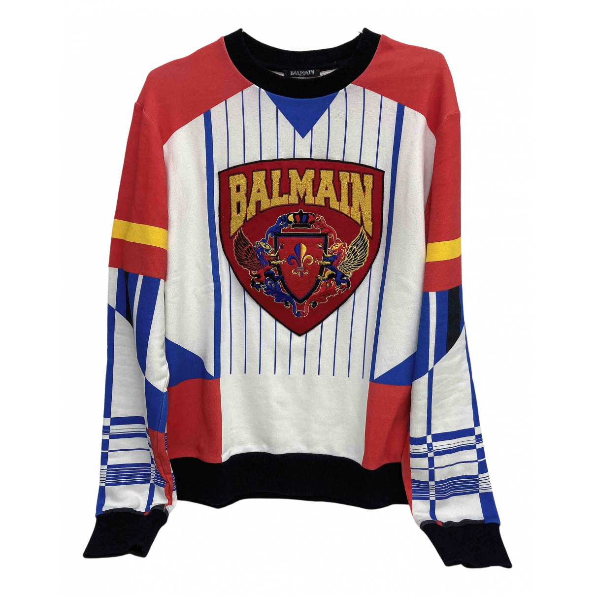 Balmain N Multicolour Cotton T-shirts for Men M International