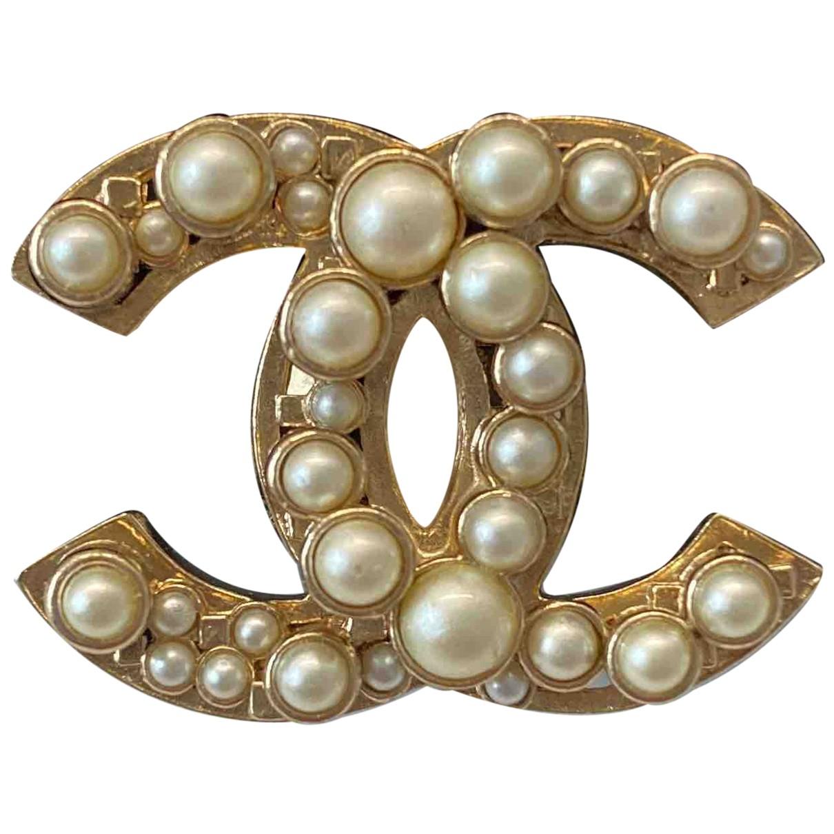 Chanel - Bague Baroque pour femme en metal - dore