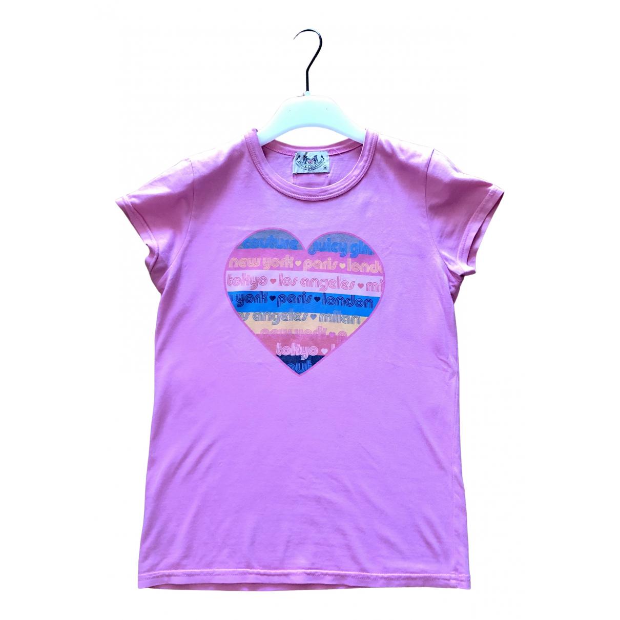 Juicy Couture - Top   pour femme en coton - rose