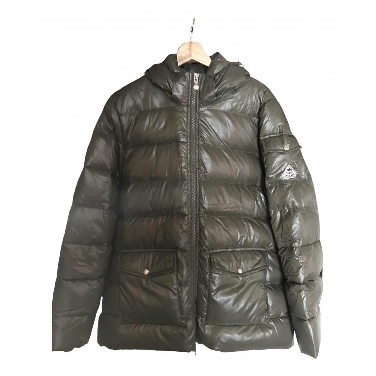Pyrenex - Manteau   pour femme - kaki