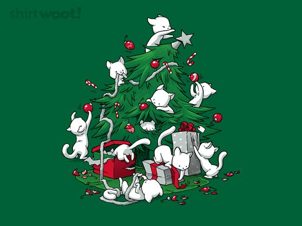 Cat Tree T Shirt