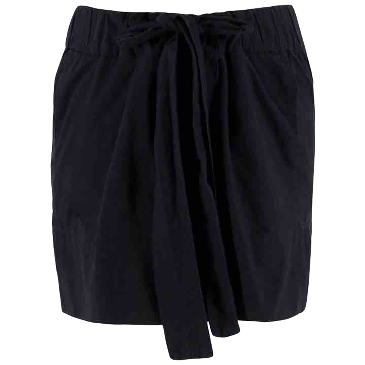 Isabel Marant Etoile \N Black Cotton skirt for Women 38 FR