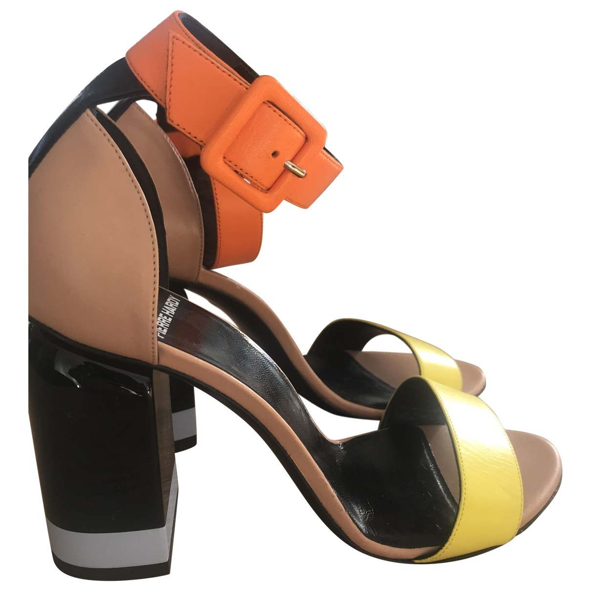 Pierre Hardy \N Multicolour Leather Sandals for Women 36 EU