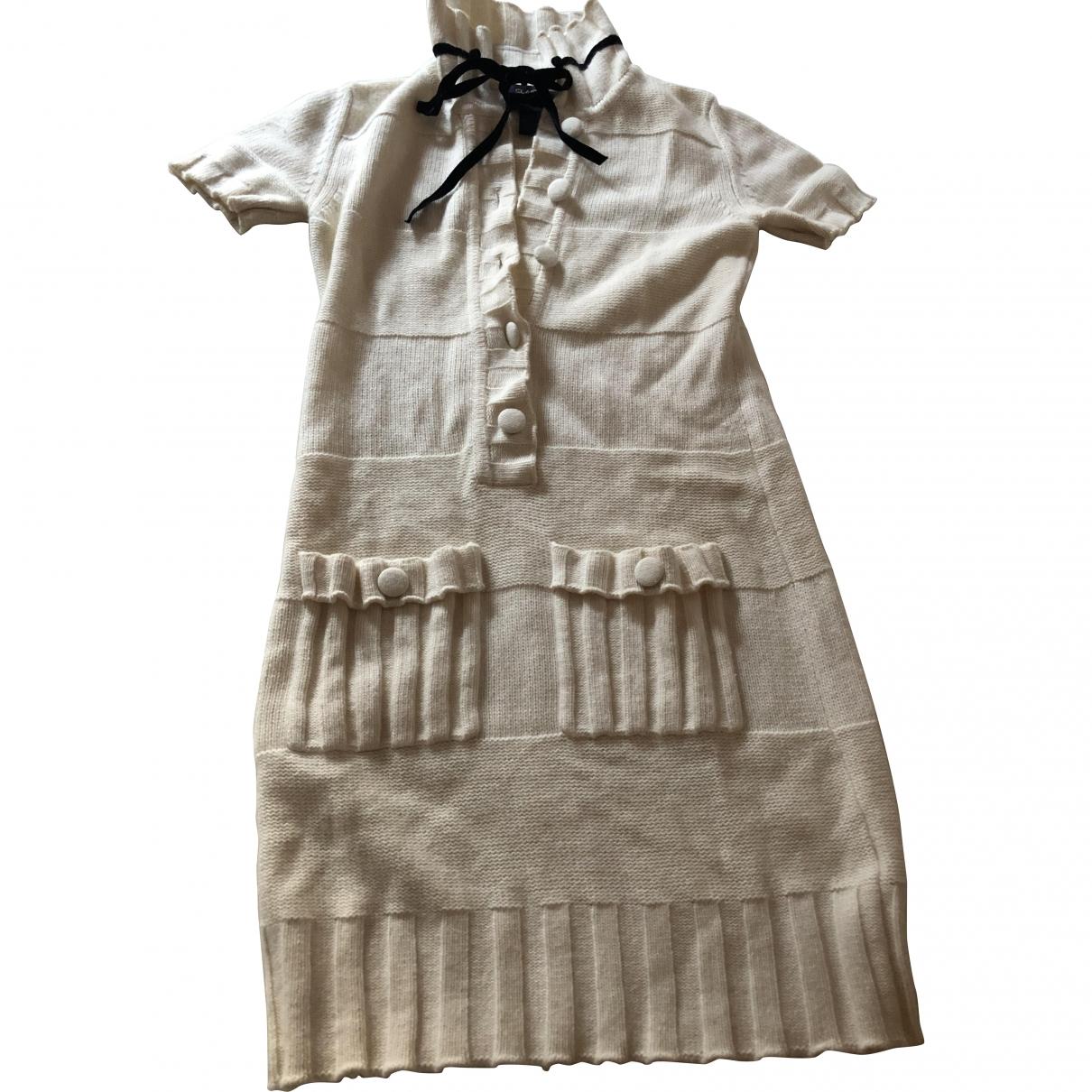 Class Cavalli \N Beige Wool dress for Women 6 US