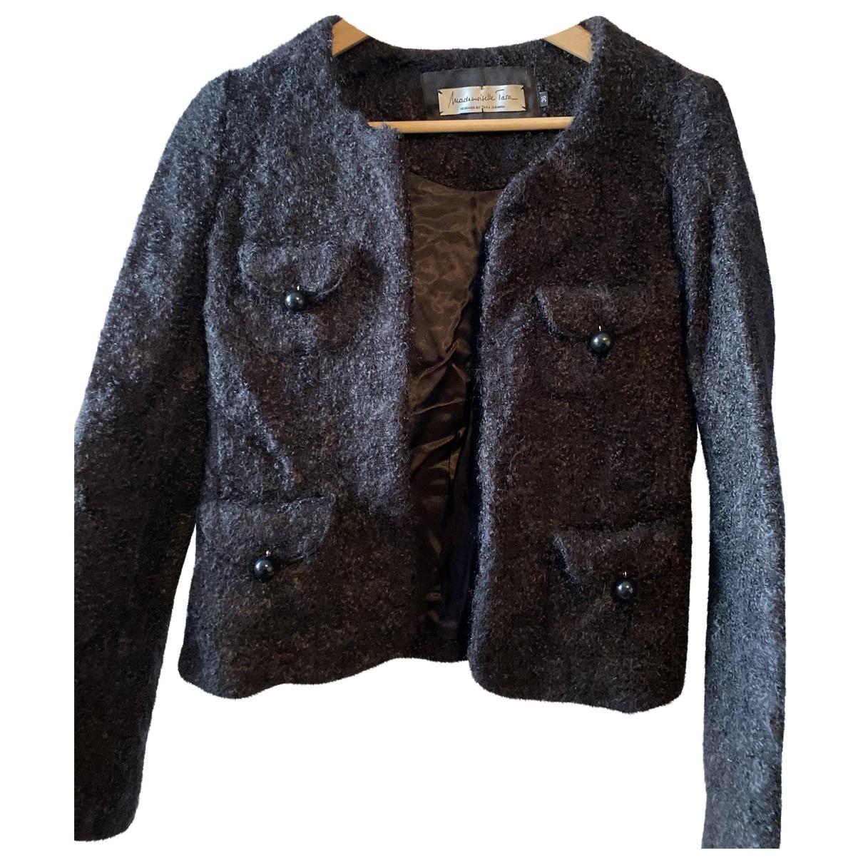 Tara Jarmon - Veste   pour femme en laine - noir