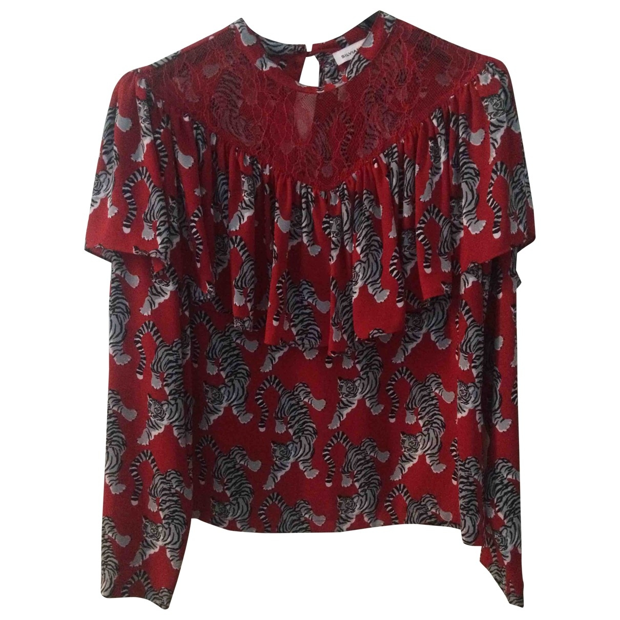 Non Signé / Unsigned \N Red  top for Women 40 IT