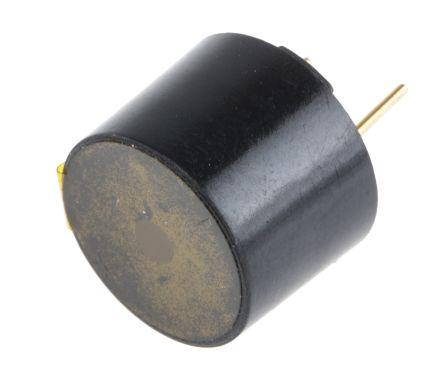 RS PRO 8V ac, PCB Mount Electromagnetic Buzzer, 94dB Continuous (5)