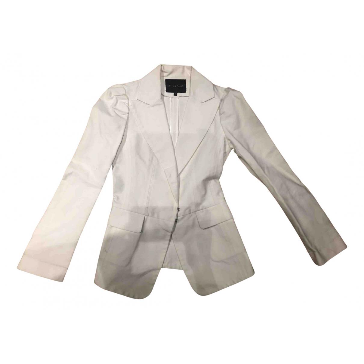 Isabel Marant - Veste   pour femme en coton - blanc