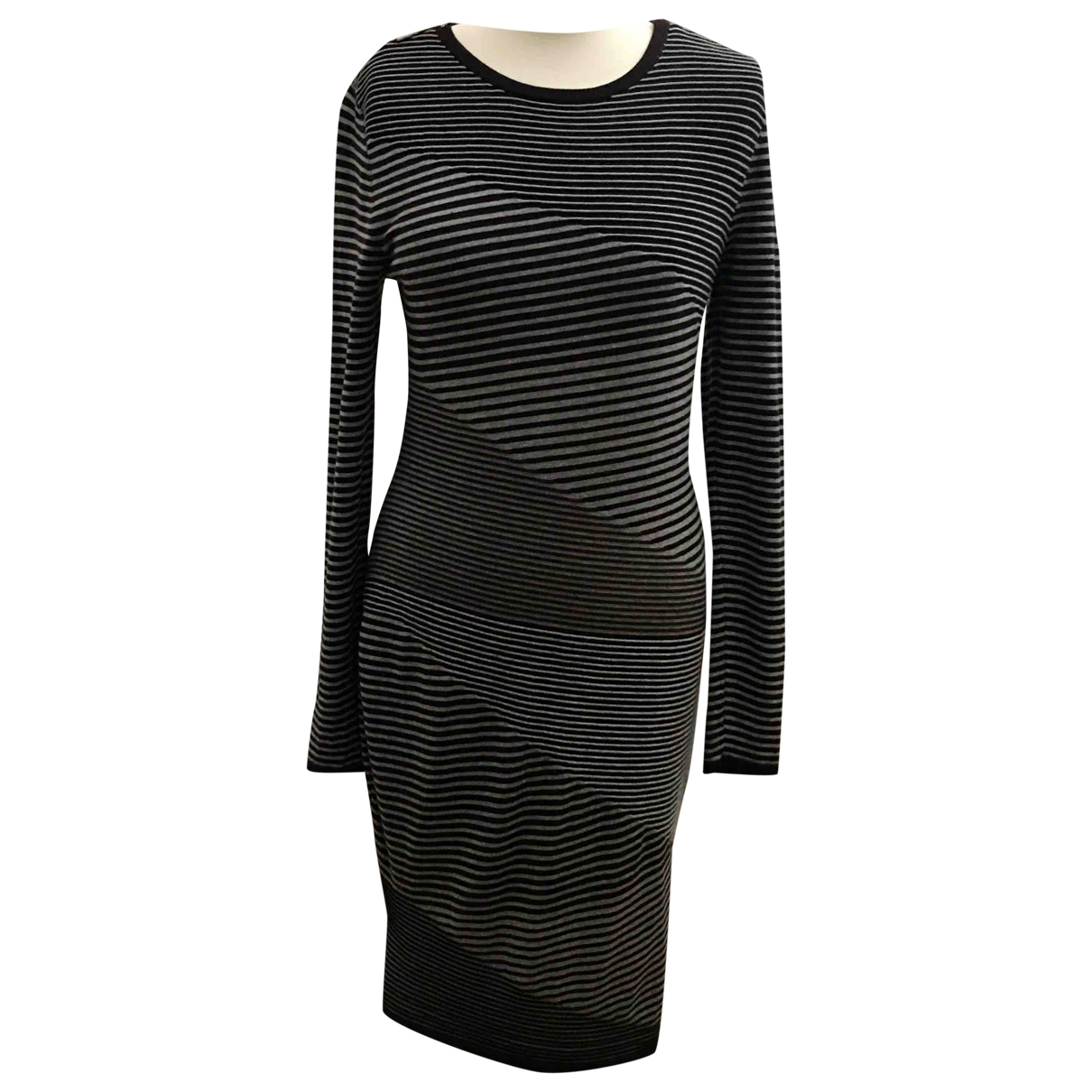 Michael Kors \N Kleid in  Grau Synthetik