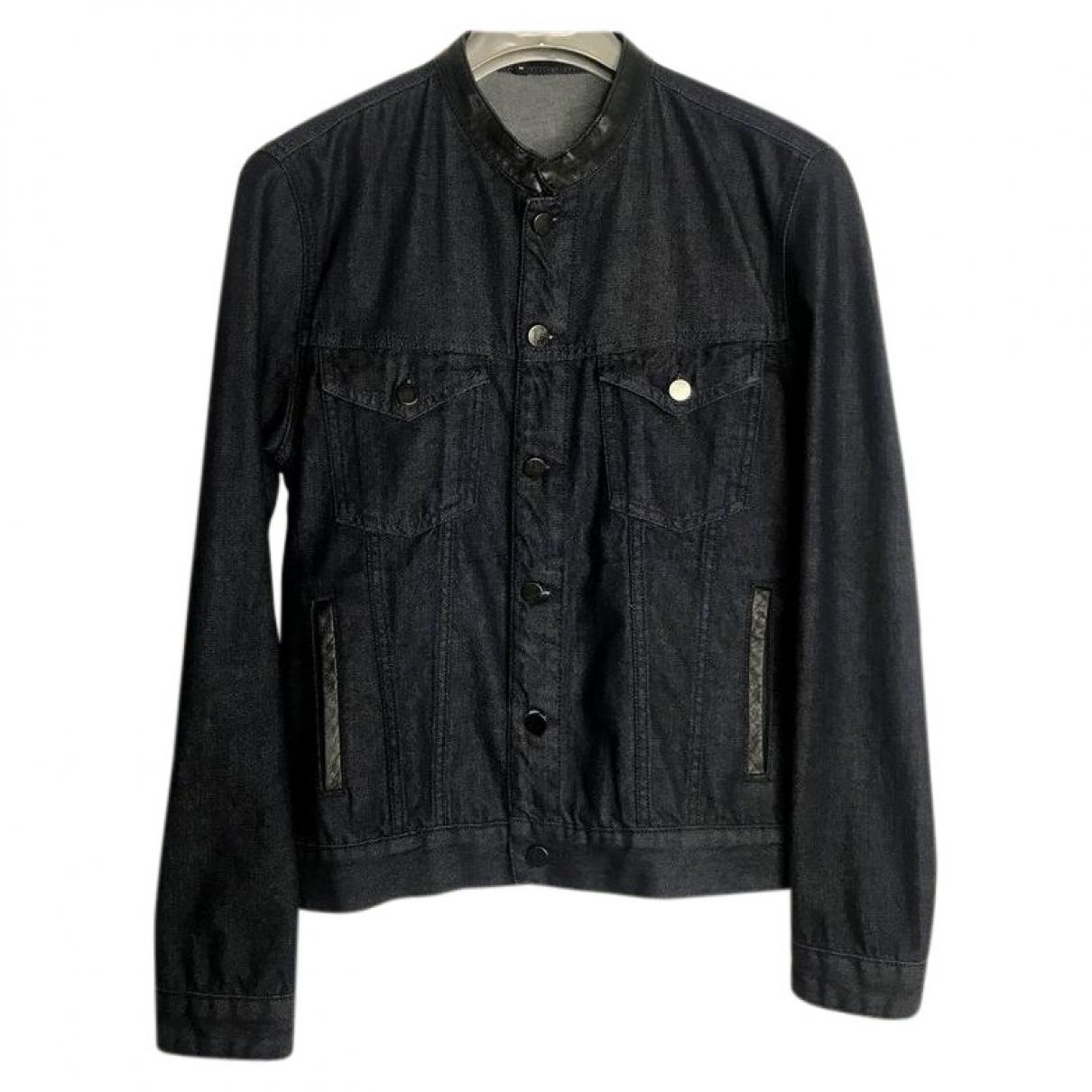 The Kooples \N Blue Denim - Jeans jacket  for Men M International