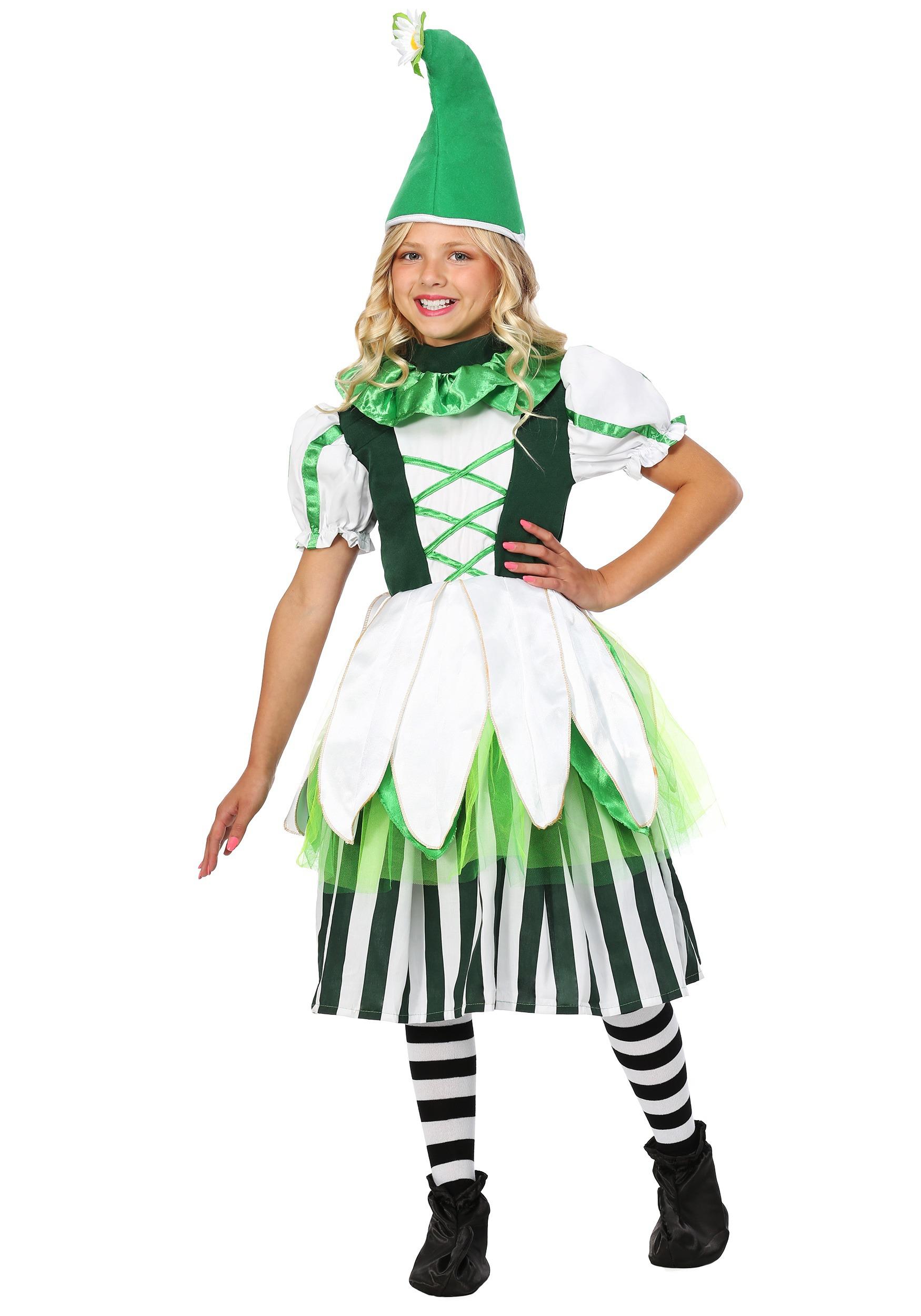 Deluxe Girl Munchkin Kids Costume