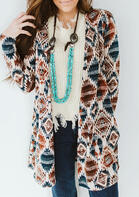 Presale - Vintage Aztec Geometric Cardigan