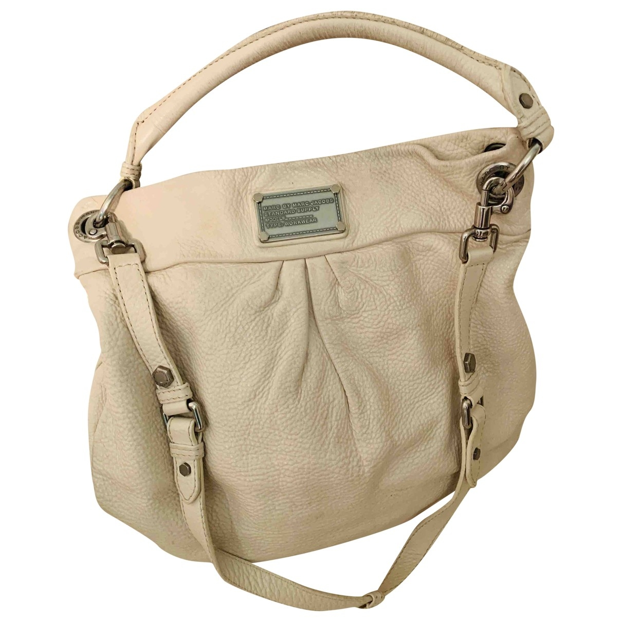 Marc By Marc Jacobs Too Hot to Handle White Leather handbag for Women \N