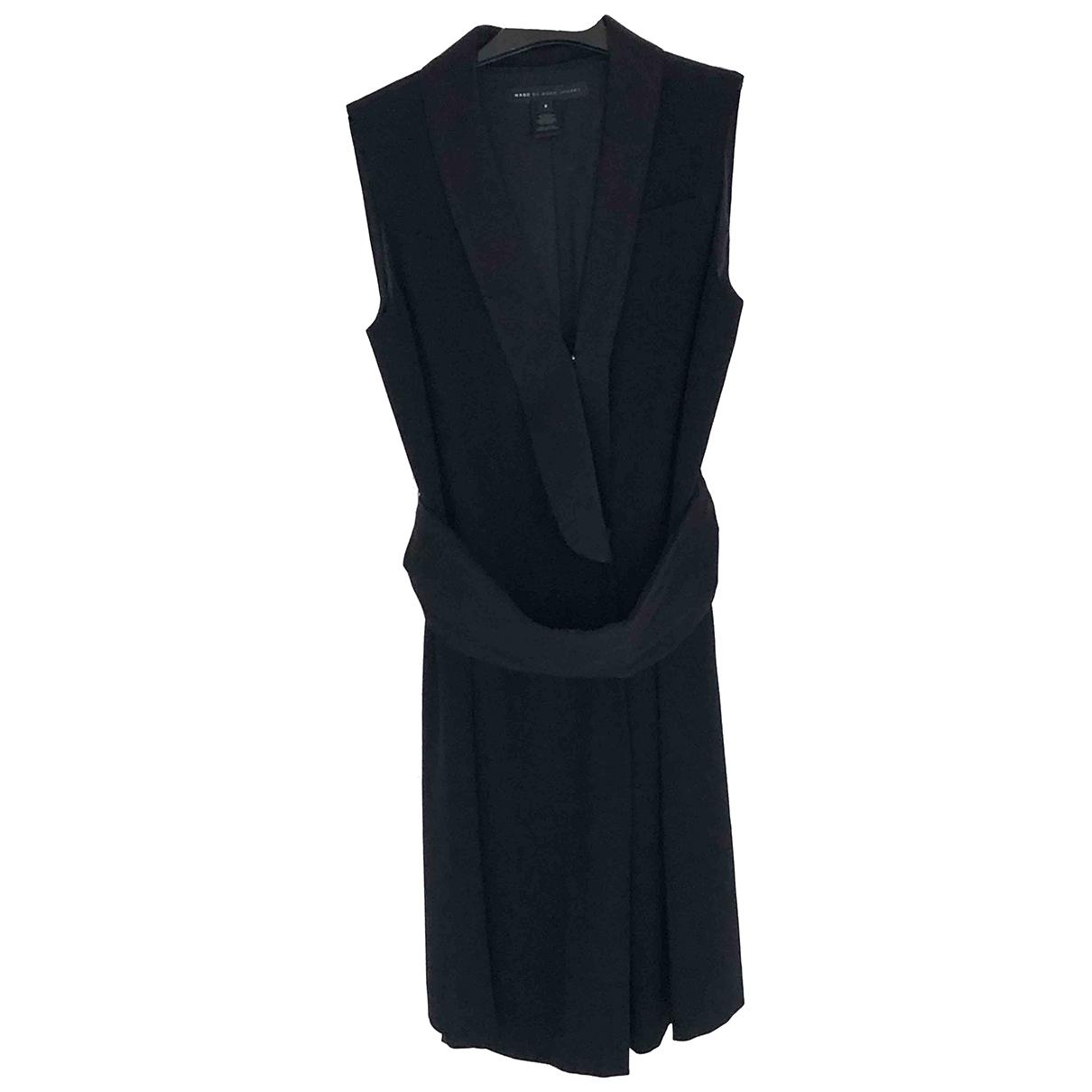 Marc By Marc Jacobs \N Kleid in  Schwarz Polyester