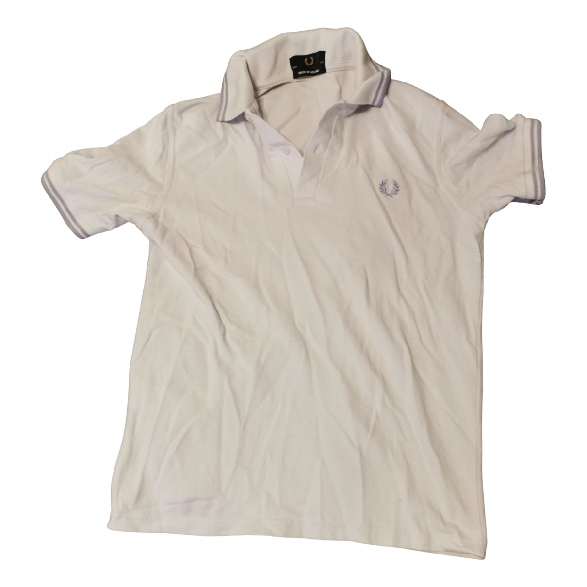 Fred Perry N Purple Cotton Polo shirts for Men M International