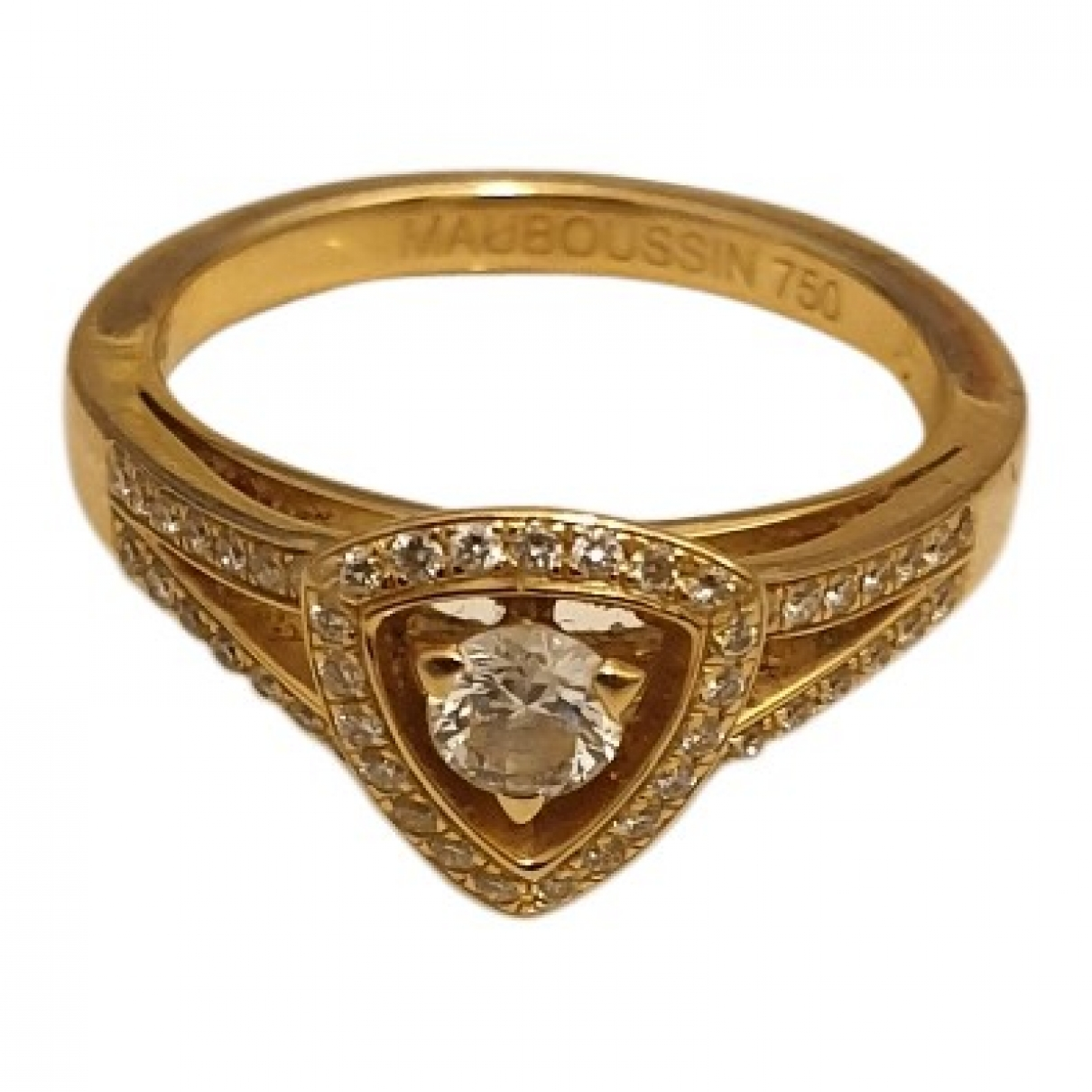 Mauboussin \N Ring in  Gold Gelbgold