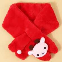 Kleinkind Kinder Weihnachten Schal mit Hirsch Dekor