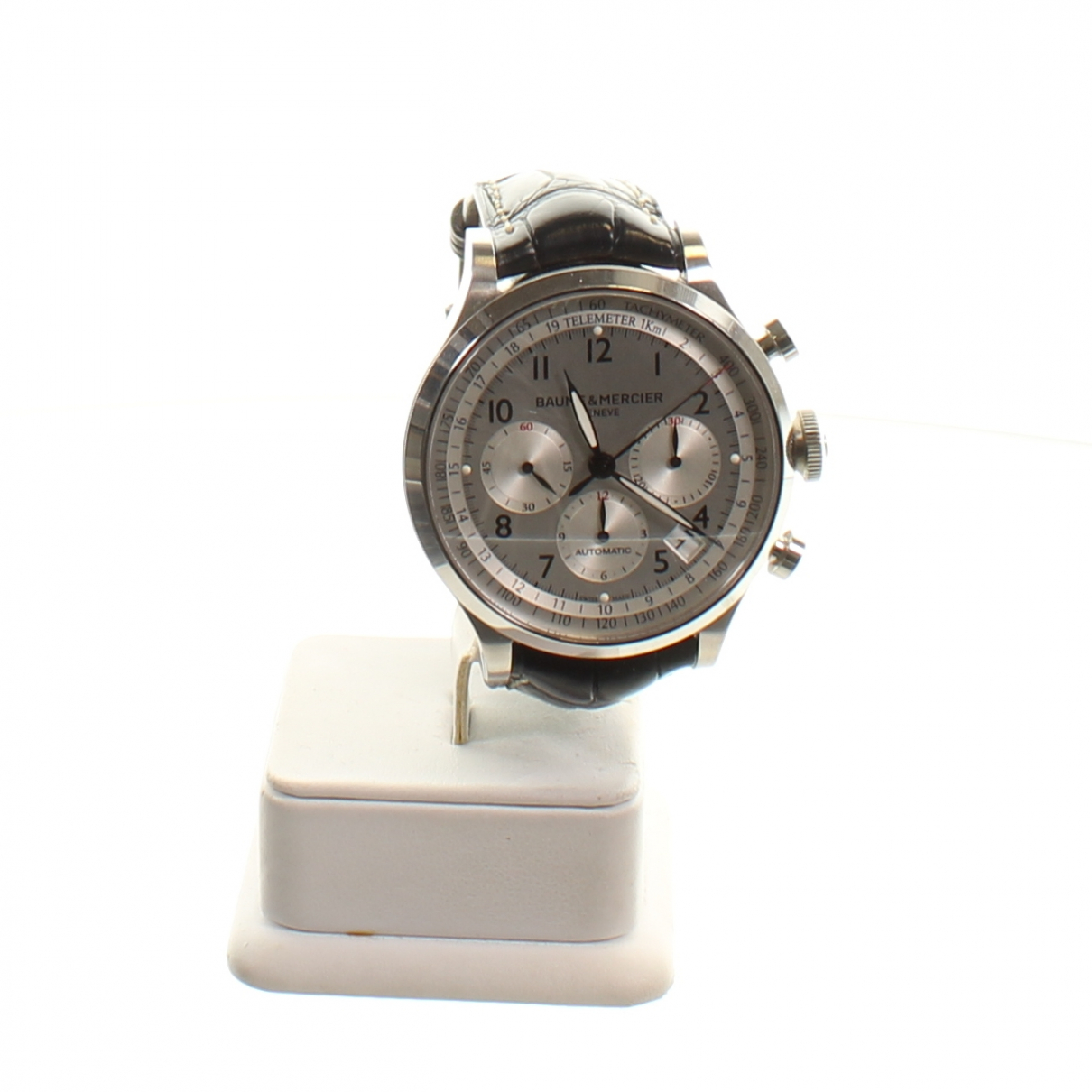 Baume Et Mercier Capeland Black Steel watch for Men N