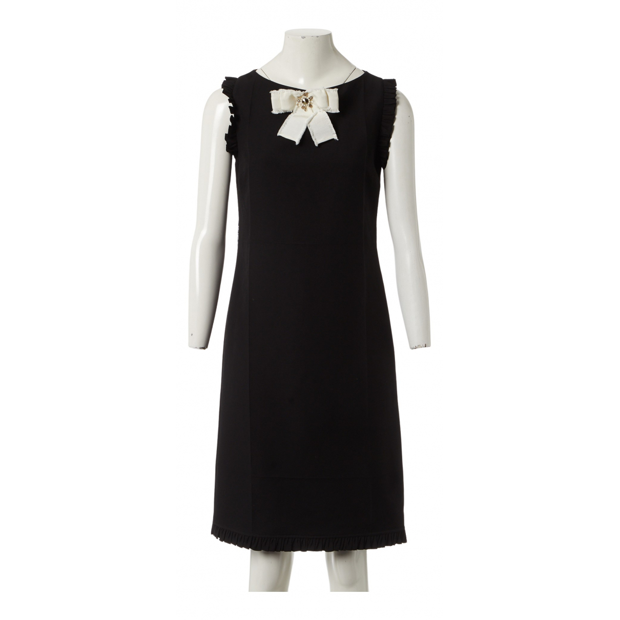 Gucci N Black Wool dress for Women 40 IT