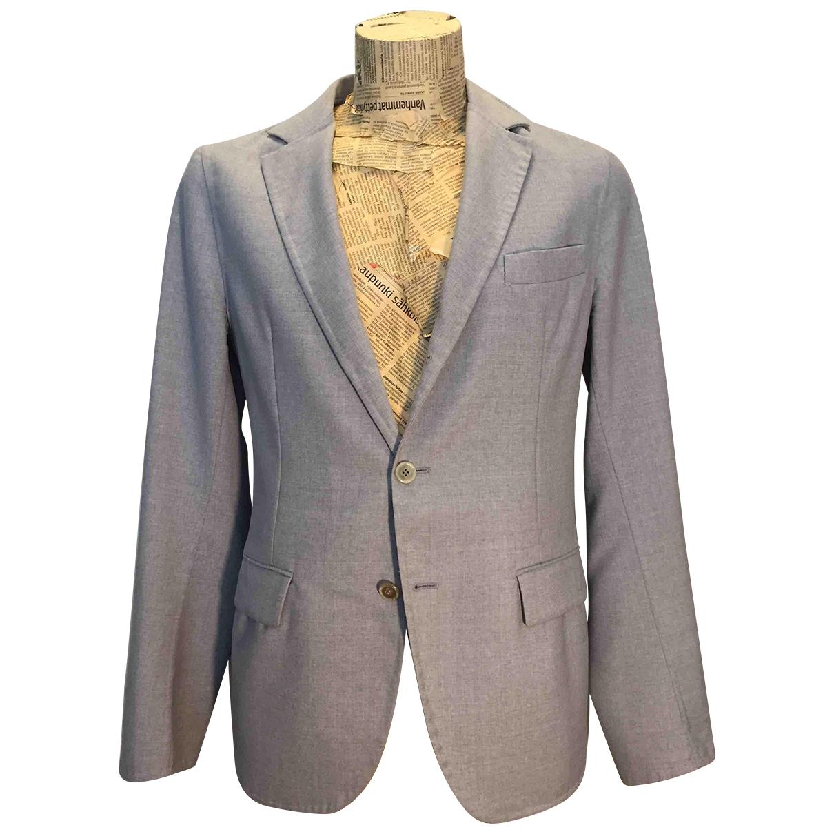 Ermanno Scervino \N Jacke in  Grau Wolle