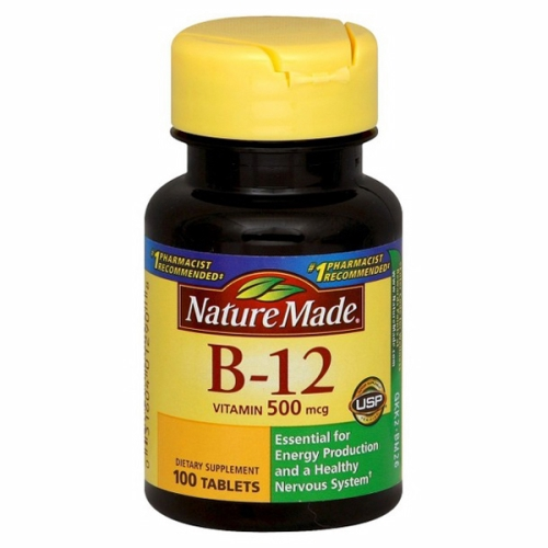 Vitamin B-12 100 Tabs by Nature Made