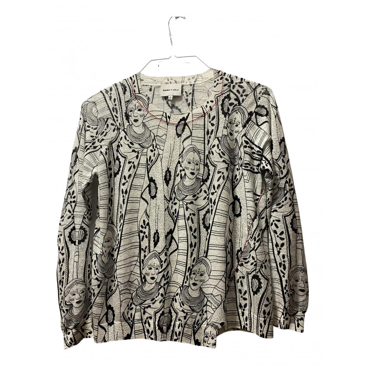 Bimba Y Lola N White Linen Knitwear for Women S International