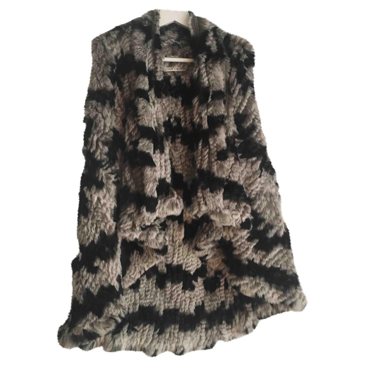 Alice & Olivia \N Multicolour Rabbit jacket for Women S International