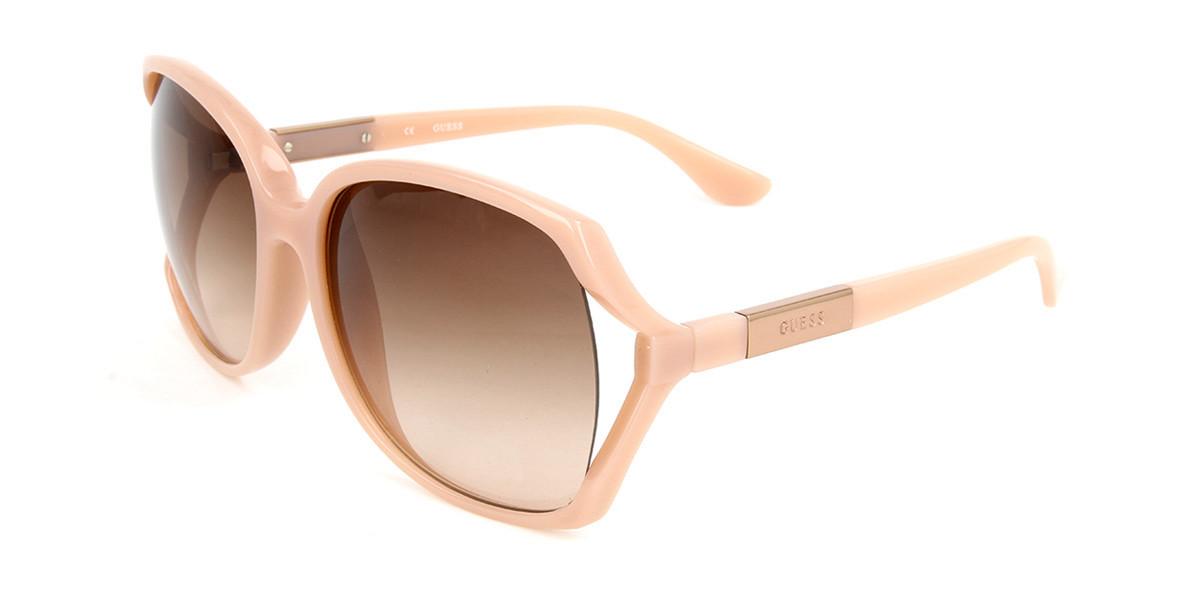 Guess GU 1047A Asian Fit 57F Men's Sunglasses Pink Size 61