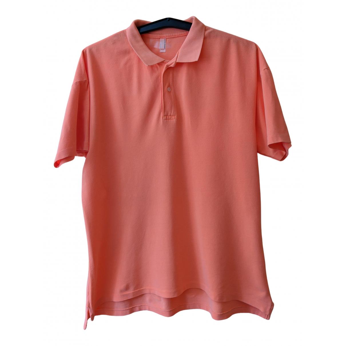 American Apparel - Polos   pour homme en coton - orange