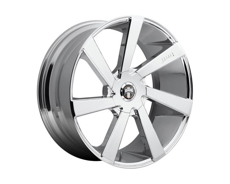 DUB S132 Directa Wheel 22x9.5 BLANK 32mm Chrome Plated