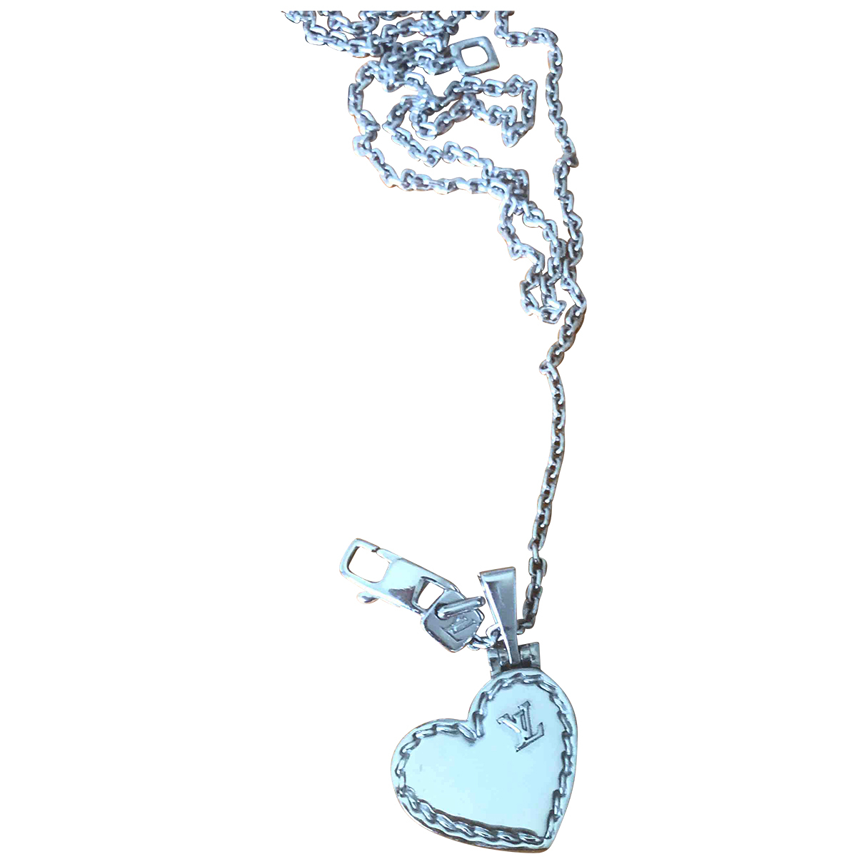 Louis Vuitton \N Silver White gold necklace for Women \N
