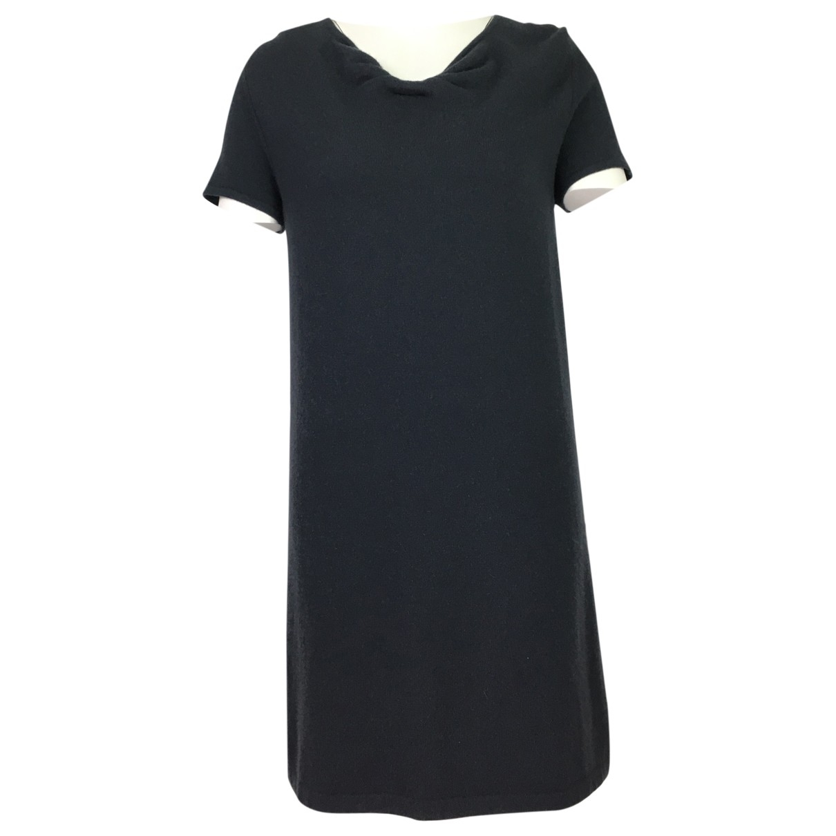Allude \N Kleid in  Grau Kaschmir