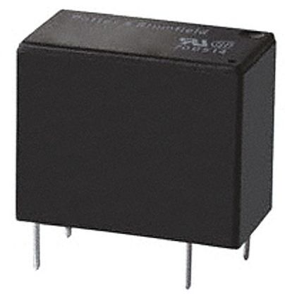 TE Connectivity , 24V Coil Non-Latching Relay SPNO, 10A Switching Current PCB Mount Single Pole