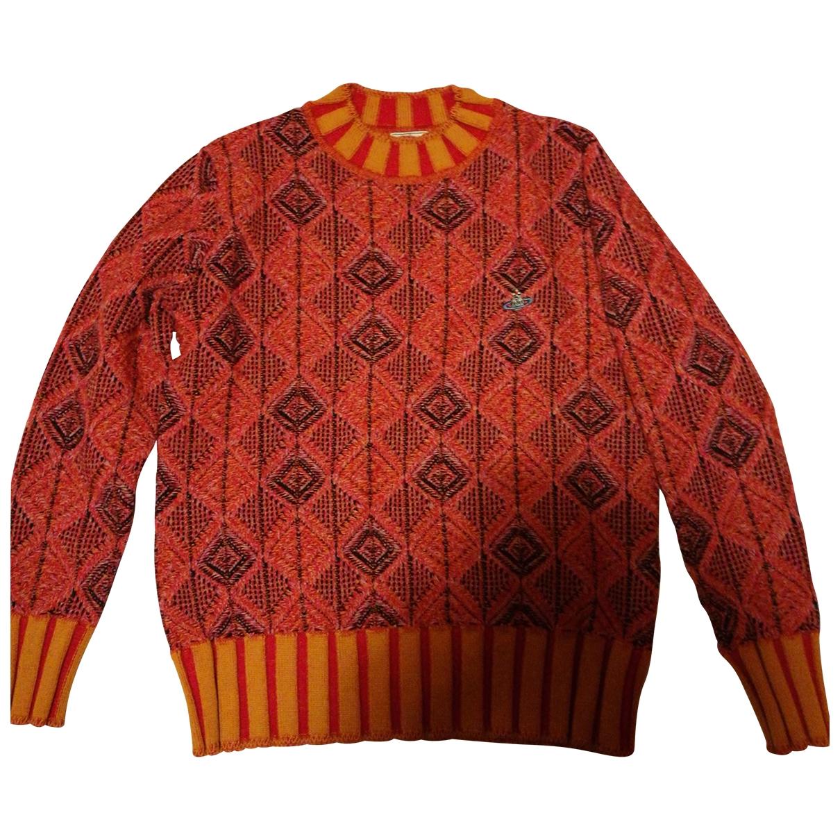 Vivienne Westwood \N Orange Wool Knitwear & Sweatshirts for Men XS International