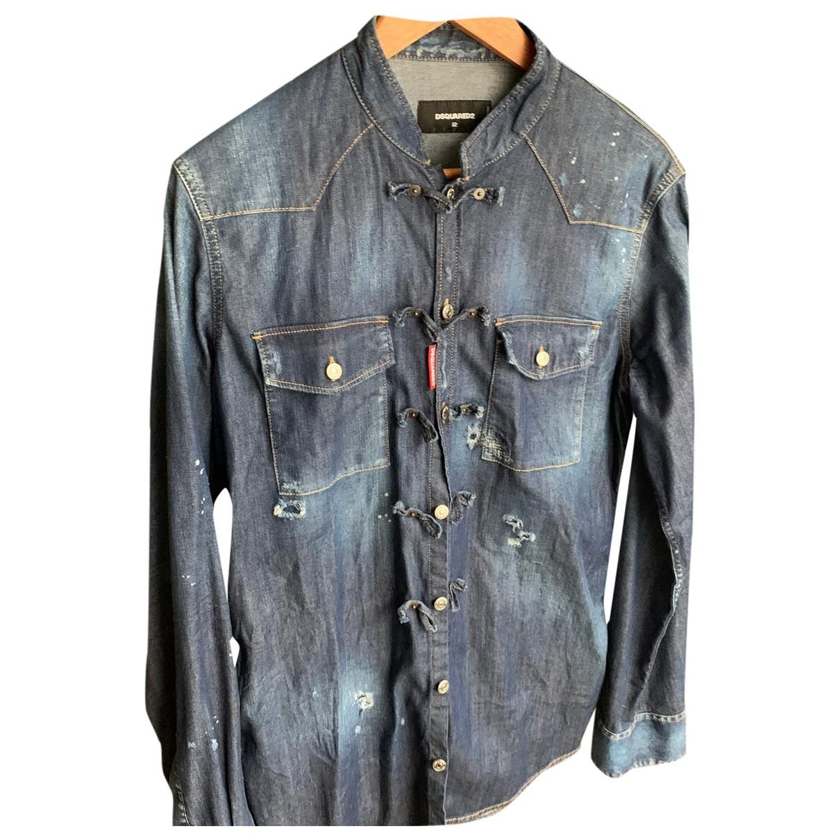 Dsquared2 N Blue Denim - Jeans Shirts for Men XL International