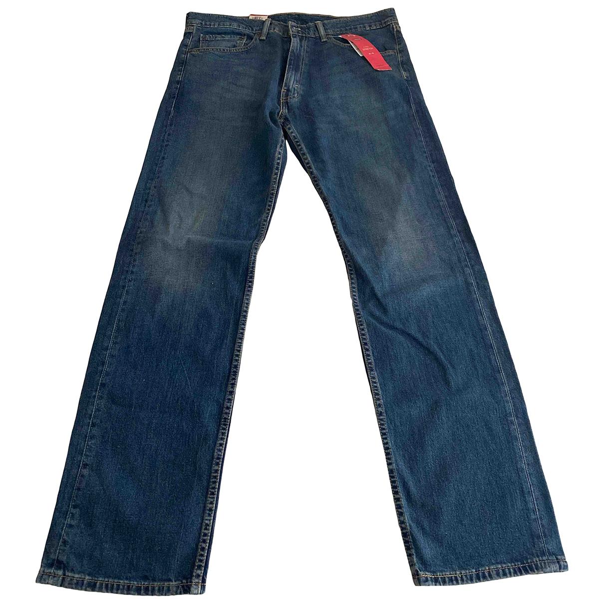 Levi's \N Blue Cotton Jeans for Men 36 UK - US