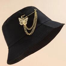 Butterfly Chain Decor Bucket Hat
