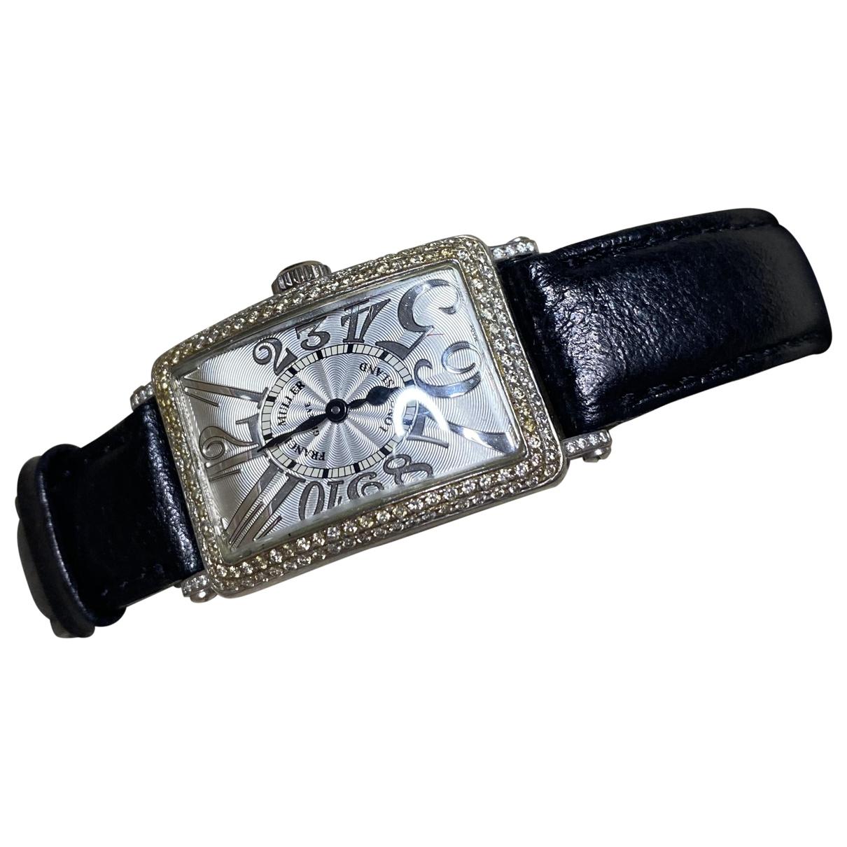 Reloj de Oro blanco Franck Muller