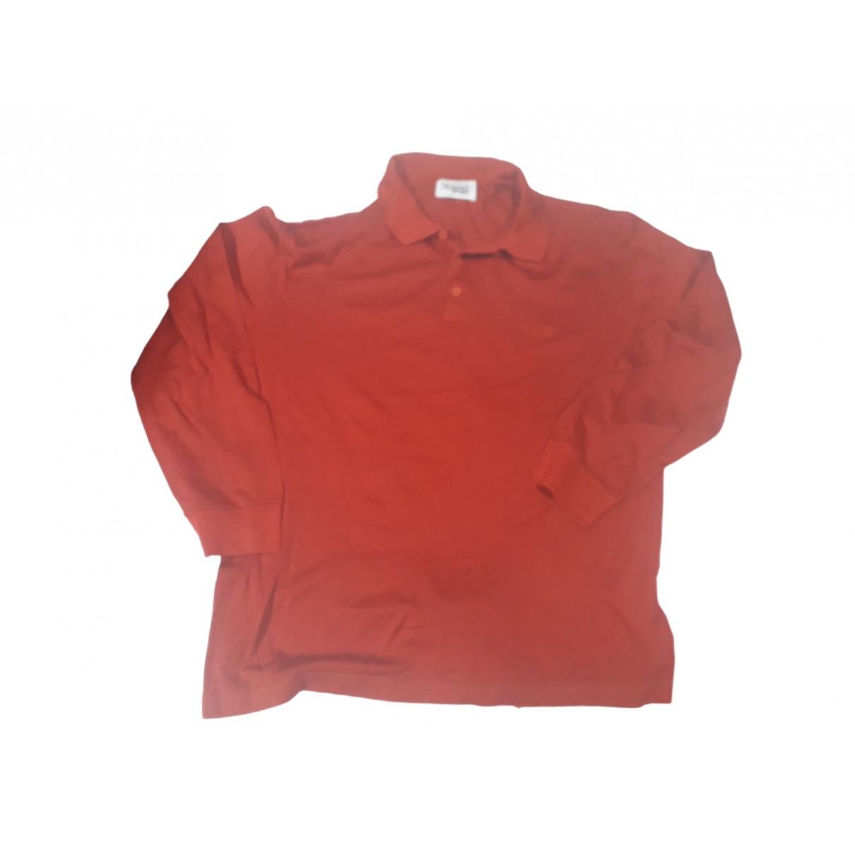 Missoni - Polos   pour homme en coton - rouge
